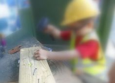 Builders at Chadwell Pre-school