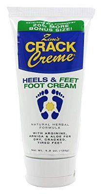 Zim's Crack Creme for Heels and Feet, 4.8 Ounce, Packaging May Vary