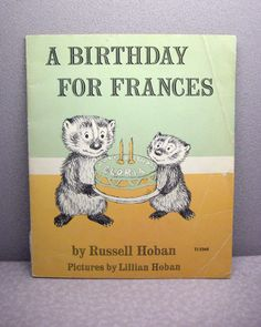 A Birthday for Frances Vintage Children's Book , $7.50