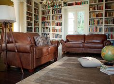 Featuring a beautifully detailed roll arm and deep seating, the Oxford will add a touch of class to your living room. Its supple leather and brass stud detail give an authentically traditional look. Crafted with care, constructed with quality timbers and foams supported by a zig-zag steel spring system, the Oxford is sure to stand the test of time and comes with the Plush 10-Year Peace of Mind Warranty.