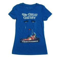 One of my fav Tees. Runs small and are a bit thin but the graphics are great. #Gatsby www.outofprint.com