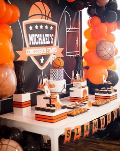 A little bit royal for Daniel's first birthday 🇬🇧 ・・・ Styling- Venue- Event Photographer-… Basketball Party Favors, Basketball Baby Shower, Basketball Birthday Parties, Sports Birthday, 10th Birthday Parties, Boy First Birthday, Birthday Party Decorations, Basketball Crafts, Basketball Drawings