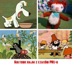 Poland People, Visit Poland, Kids Tv Shows, Picture Tattoos, Childhood Memories, Character Inspiration, Diy And Crafts, Nostalgia, Snoopy
