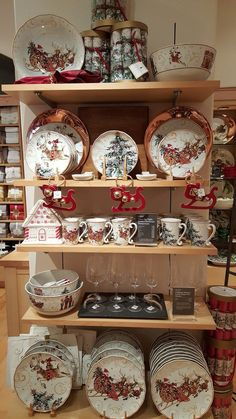Get Ready for Holiday Entertaining with Christmas China by Between Naps on the Porch.