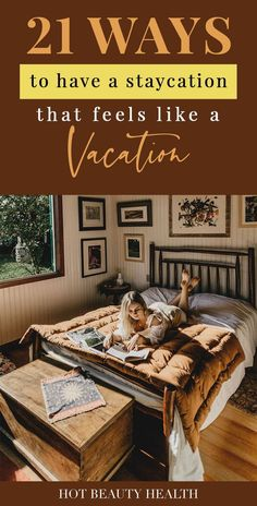 "Want to save money on family travel this year? Instead of a destination trip, why not vacation at home. Having a staycation is great idea for the family, for couples or singles (especially if you just want some ""me time""). Here\'s a guide on staycation ideas for adults, teens, and kids that are relaxing and affordable. Hot Beauty Health #travel #traveltips #staycation #vacationtips #travelguide Summer Homework, Travel Tips, Travel Destinations, Best Places To Vacation, Life Decisions, What To Pack, Staycation, Healthy Habits, No Time For Me"
