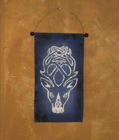 Hand Painted Skyrim Falkreath Hold Guard Shield Design by Lorinas, $18.00