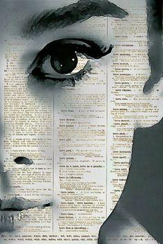 Audrey Hepburn, Incredible Audrey Dictionary Art Print, Dictionary Page Art, Book Art, Mixed Media Art, Buy 2 Get 1 Free, Flat Rate Shipping...
