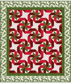 Gift Wrapped Quilt Pattern MR-126 (queen, twin, throw, table runner, placemat, intermediate)