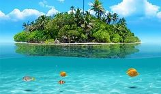Gallery images and information: Beautiful Tropical Islands With Houses.