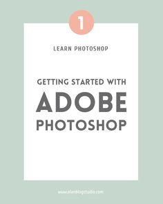 Photoshop is one of the most useful tools for bloggers and business owners. Follow these tutorials to learn how to use it.