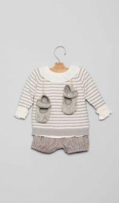 Conjuntos para bebé en la Tienda Online Nícoli Nicoli L1602023-bb Bebe