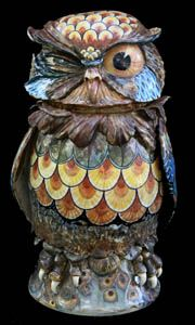 Owl 7 - David Burnham Smith - Master Ceramic Artist