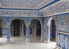 Blue Room - City Palace - Jaipur -     India-Jaipur-23