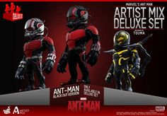 Hot Toys Unveils Surprisingly Awesome Stylized Ant-Man Figure Set