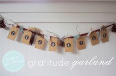 Gratitude Garland