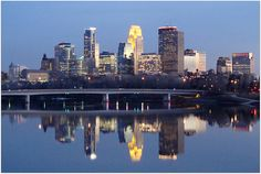 Minneapolis, Minnesota skyline, my home for 5 years. Minneapolis Skyline, Minneapolis Minnesota, Skyline 2, New York Skyline, Places To See, Places Ive Been, First Job, Twin Cities, Cityscapes