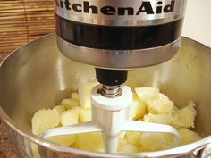 KitchenAid - Mashed Potatoes. Boil for 15 mins.