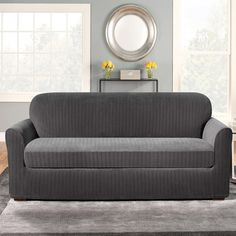 Grey Couch Slipcovers Grey Couch Covers, Loveseat Slipcovers, Cushions On  Sofa, Buy Living