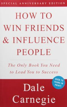 This is the original book on emotional intelligence. Way before social scientists had the case studies to back up the efficacy of human relations, as well as its impact on the way we live and the way we work, Dale Carnegie had tried and tested his methods of positive influence enough times to know their effectiveness. Over 100 million copies later, the methods have proven themselves by withstanding the test of time.