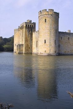 Bodiam Castle, in Sussex England. As odd as it is, this makes my heart hurt for the beauty of't.