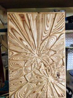 Plywood explosion - Design,  40x1.2x60 cm ©2014 by Andrius Saras -            bonitum, liquid plywood