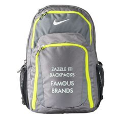 Custom Personalized Nike® Backpack Blank Template - create your own gifts  personalize cyo custom Colorful 7855390a59680