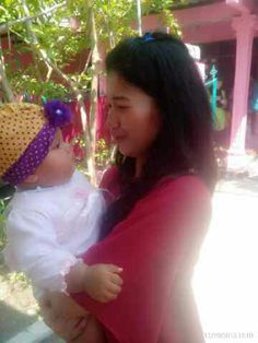 Baby K with Intan daughter 😍