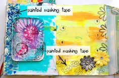 heArt Makes: Painted masking tape
