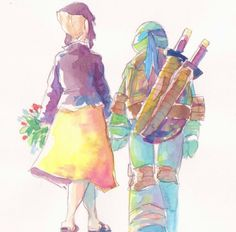 First date TMNT