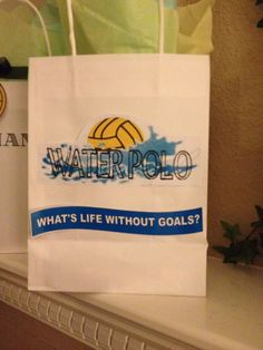 Water Polo What's life without goals? Senior Night Gifts, Senior Day, Kids Sports Party, Sports Mom, Men's Water Polo, Swim Team Gifts, Waterpolo, Water Polo Players, Swim Mom