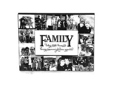 Family Picture Frame Collage Photo Frame by InitialRemembrance