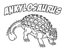 Ankylosaurus, : Ankylosaurus Baby Coloring Page Baby Coloring Pages, Dinosaur Coloring Pages, Online Coloring Pages, Coloring Sheets, Third Birthday, Birthday Ideas, The Good Dinosaur, Busy Book, Classroom Decor