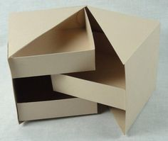 DIY Secret Jewelry Box from Cardboard Crafts DIY geheime Schmuckschatulle aus Pappe Diy Jewellery Box Cardboard, Diy Cardboard, Cardboard Drawers, Cardboard Playhouse, Cardboard Furniture, Diy Gift Box, Diy Box, Diy Gifts, Diy Design