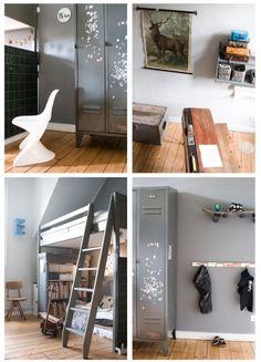 """Emil´s neues """"große Junge-Zimmer"""" ist ein Sammelsurium von Ebay-, Trödel-, Flohmarkt-, und Sperr"""