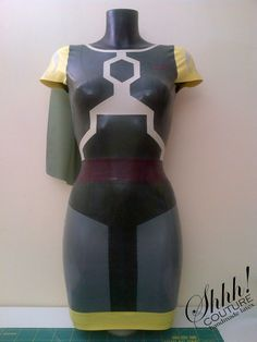 Star Wars Boba Fett Inspired Rubber Latex by ShhhCoutureLatex, $365.00