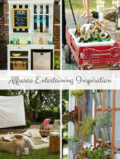 Beautiful Outdoor Entertaining: The Official Start of the Alfresco Season | Favorite Outdoor Entertaining Ideas | MomTrends