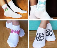 ☀ sorority sugar personal FAVE gifts from SOCKPRINTS: Christmas Ornament Initial Socks ♥ Bowtastic Big/Little Socks ♥ Bowtastic Monogram Socks ♥ Sorority Monogram Socks! http://sororitysugar.tumblr.com/holidaygiftguide http://sororities.sockprints.com/