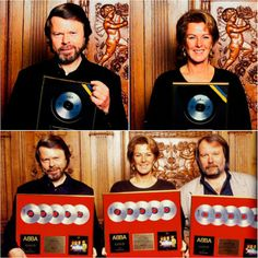 "On this day in 1993 Frida, Benny and Bjorn received platinum records for ""Abba Gold"" which at that point had sold 5 million copies - the cer... #Abba #Frida http://abbafansblog.blogspot.co.uk/2016/10/abba-date-5th-october-1993.html"