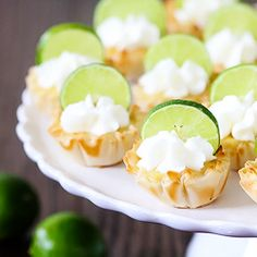 Key Lime Tartlets ~ quick and easy, and super key-lime-a-licious! #foodgawker