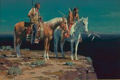 native american artist frank mccarthy | Shelton Smith | SSC | Western Art Collection | Native American ...