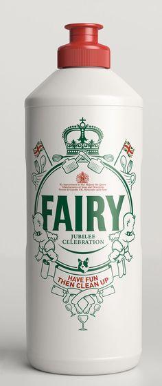 FAIRY Special Diamond Jubilee Edition - The Dieline