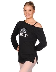 a36a6daea3f1c Danskin New York City Ballet fashion long line top.  nycb  dance  warm
