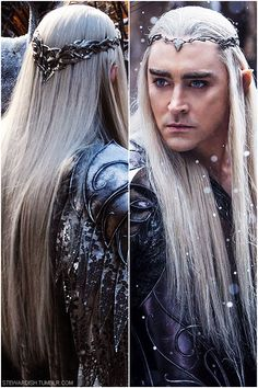Thranduil. Can not wait for the movie!! And a big thing of popcorn all Paula Deaned up with butter.