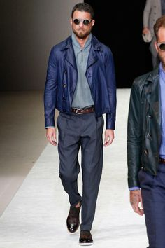 Giorgio Armani | Spring 2015 Menswear Collection | Style.com