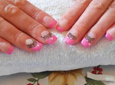 pink by Danska - Nail Art Gallery nailartgallery.nailsmag.com by Nails Magazine www.nailsmag.com #nailart