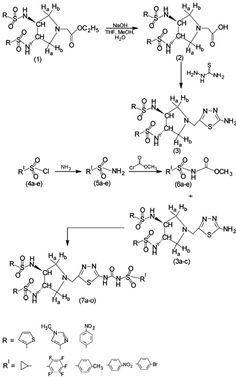 Santosh Kumar, B., Raveendra Reddy, P., Ravindranath, L. R. K. R., Guru Prasad, A. R. & Mallika, A. (2015). Synthesis, characterization and in vitro antimicrobial evaluation of sulphonyl urea derivatives as potential inhibitors of beta-ketoacyl-acyl carrier protein synthase III (FabH) [Scheme 1] .Acta Universitaria, 25(1), 12-21. doi: 10.15174/au.2015.658
