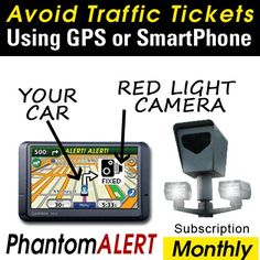 Best selling of PhantomALERT Red Light Camera, Speed Camera, and Speed Trap Detector Software for Select Garmin, TomTom, and Magellan GPS (1-Month Download Subscription)