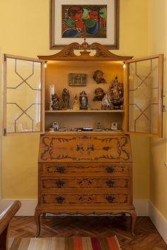 Decoração de: Detalhes; armário antigo; Casa de Valentina