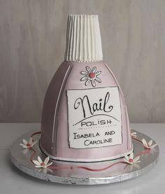 New Spin on Novelty Cakes Art Birthday Cake, Unique Birthday Cakes, Unique Cakes, Creative Cakes, Gorgeous Cakes, Amazing Cakes, Nail Polish Cake, Cake Models, Cupcake Cakes