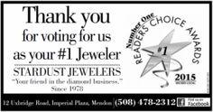 Stardust Jewlers in Mendon Voted Jeweler Custom Jewelry Design, Fine Jewelry, Jewels, Jewelery, Jewelry, Jewel, Jewerly, Gemstones